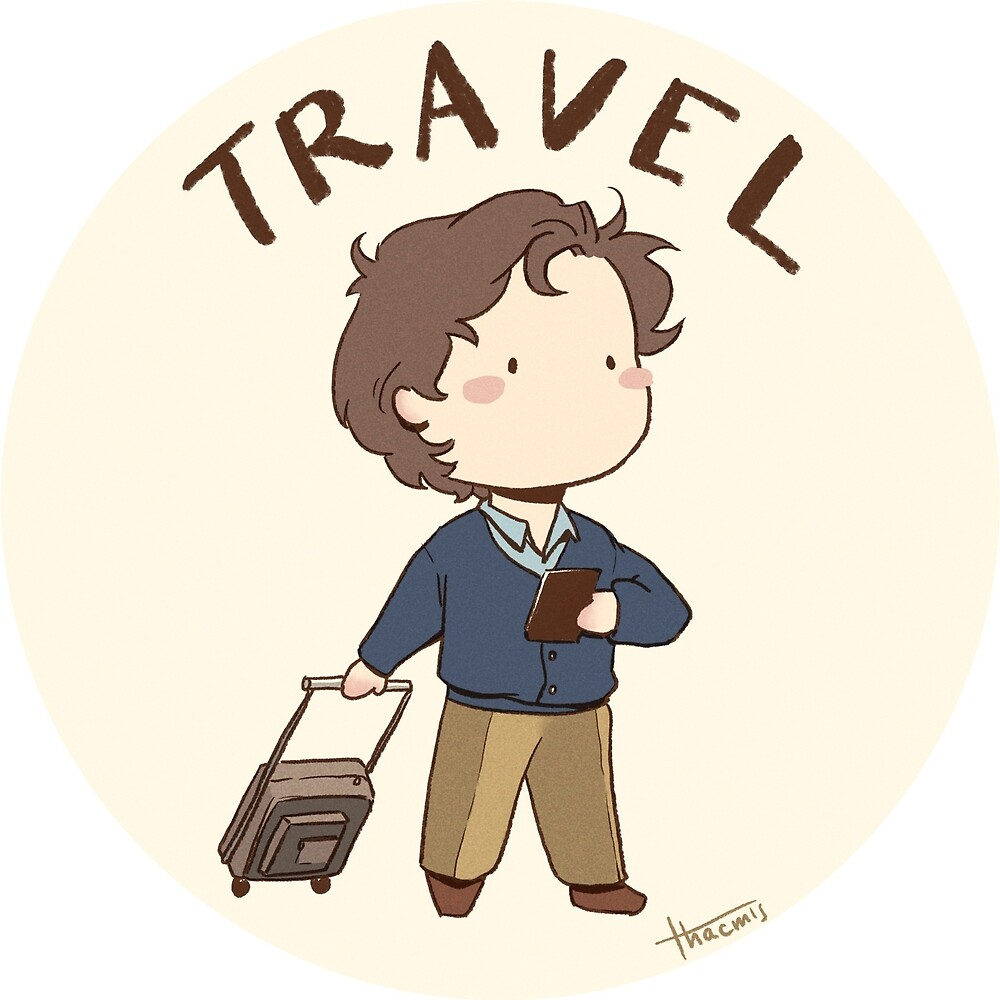 Travel - Chibi Charl by thacmis