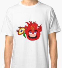 satan mario flower power Classic T-Shirt