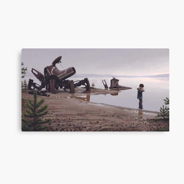 Rest Stop Canvas Print