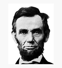 Abe Lincoln Photographic Print
