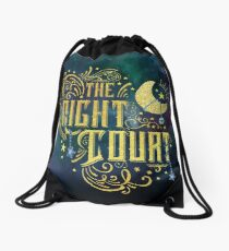 The Night Court Drawstring Bag