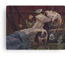 On the activities of primates and passerines Canvas Print