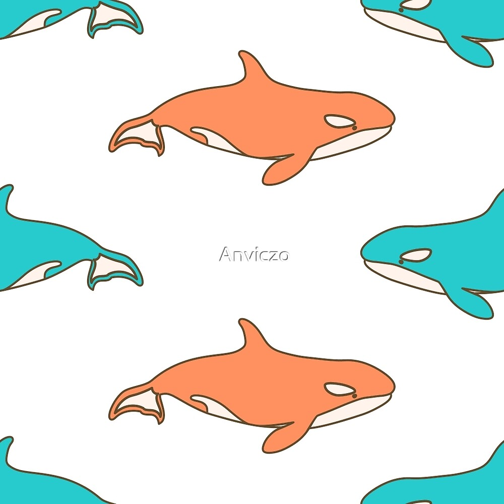 Killer Whales by Anviczo