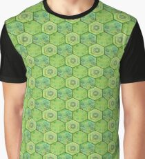 Turtle Scale Graphic T-Shirt