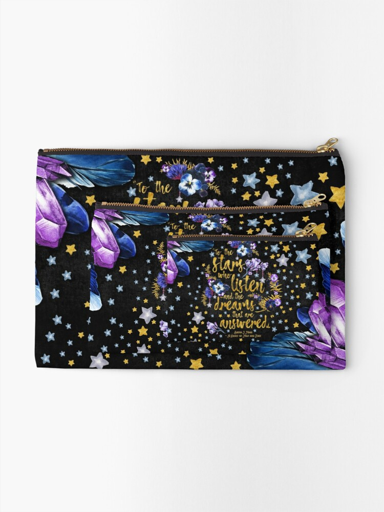 Alternate view of ACOMAF - To the Stars Zipper Pouch