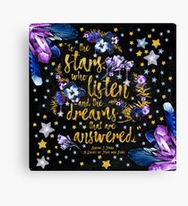 ACOMAF - To the Stars Canvas Print