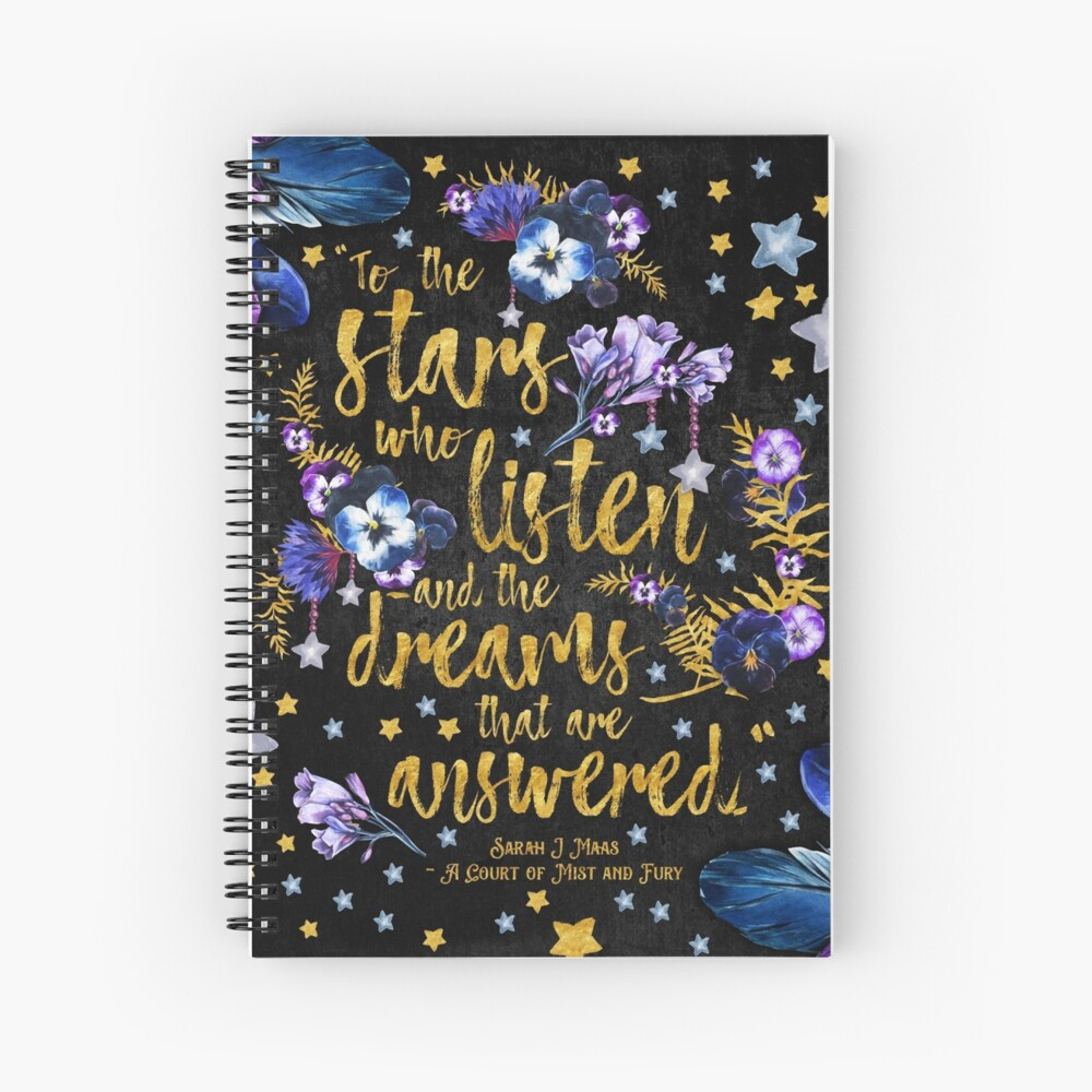 ACOMAF - To the Stars Spiral Notebook