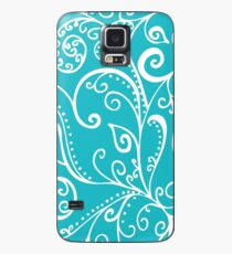 Silent Era, Turquoise Case/Skin for Samsung Galaxy