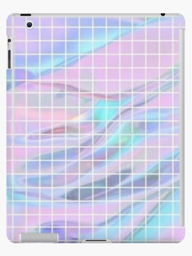 low priced a7013 b04f4 'Holographic Grid' iPad Case/Skin by Lucie Duah