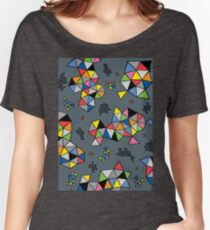 Edgewise grey Women's Relaxed Fit T-Shirt