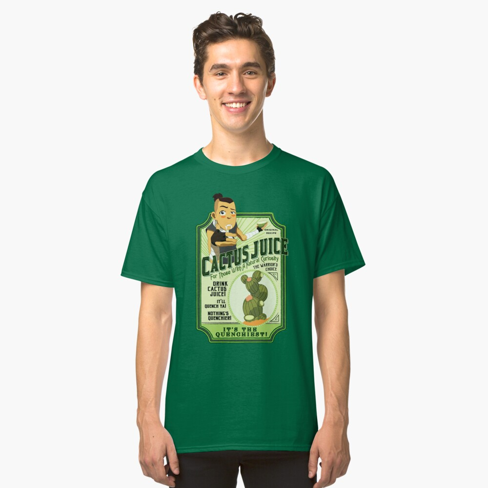 Trinken Sie Kaktussaft Classic T-Shirt Vorne