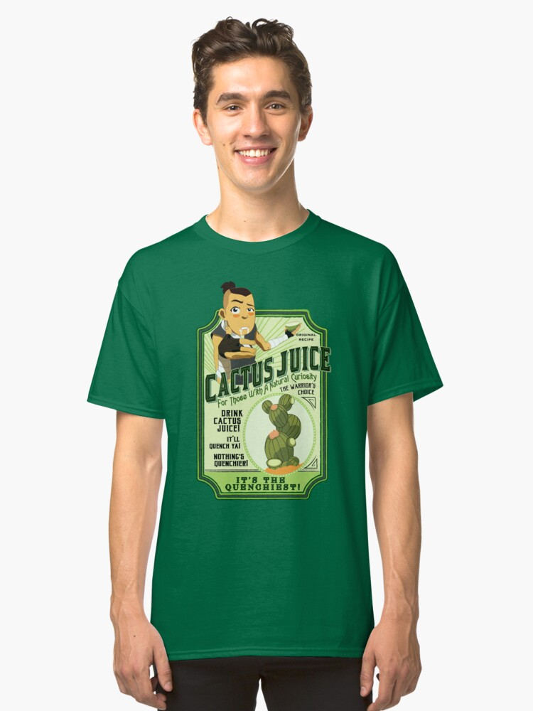 Alternate view of Drink Cactus Juice Classic T-Shirt