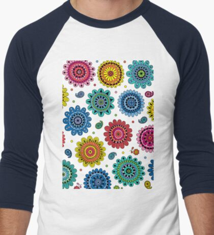 Flowers of Desire white T-Shirt