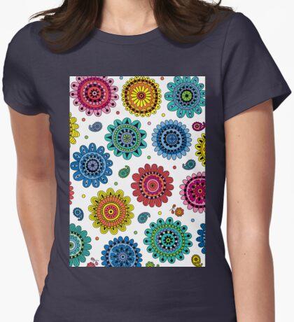 Flowers of Desire white T-Shirt