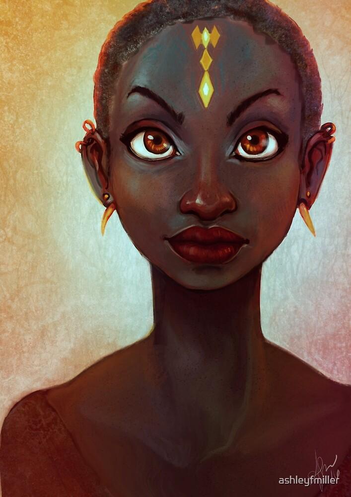 African Snow White by ashleyfmiller