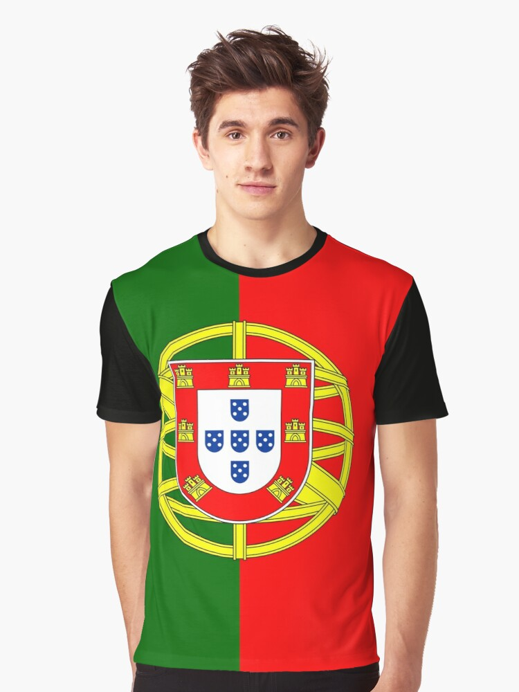 PORTUGAL Graphic T-Shirt Front