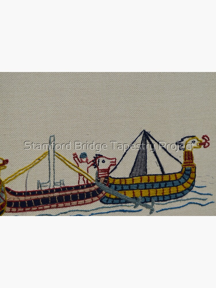 Viking ships arriving by SBTapestry
