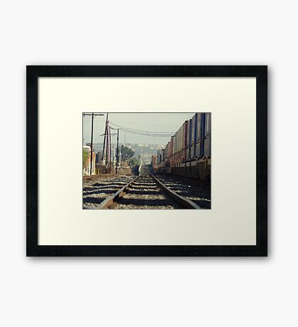 To & Away Framed Print