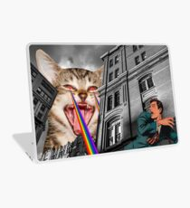 THE CAT STRIKES BACK Laptop Skin