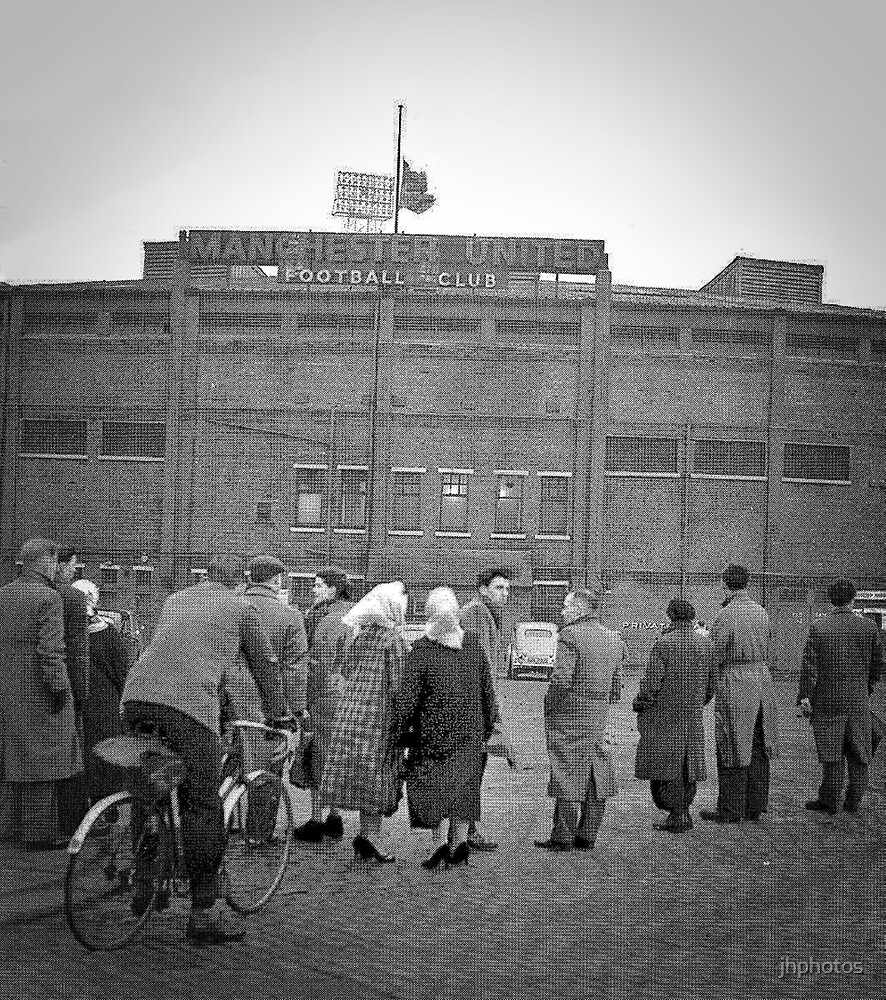Old Trafford - February 1958 by jhphotos