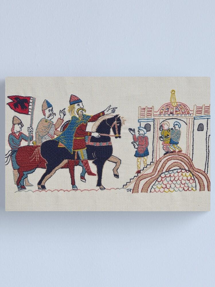 Alternate view of Hardrada reaches York Canvas Print