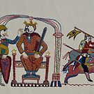 Harold sends out his messengers by Stamford Bridge Tapestry Project