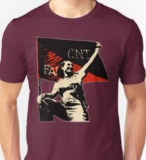 Anarchy Flag Woman - for dark backgrounds Unisex T-Shirt