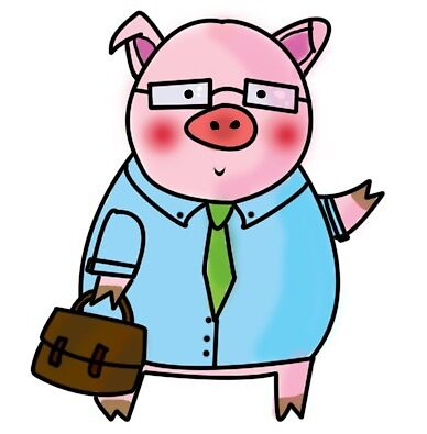 business pig by whatthebec