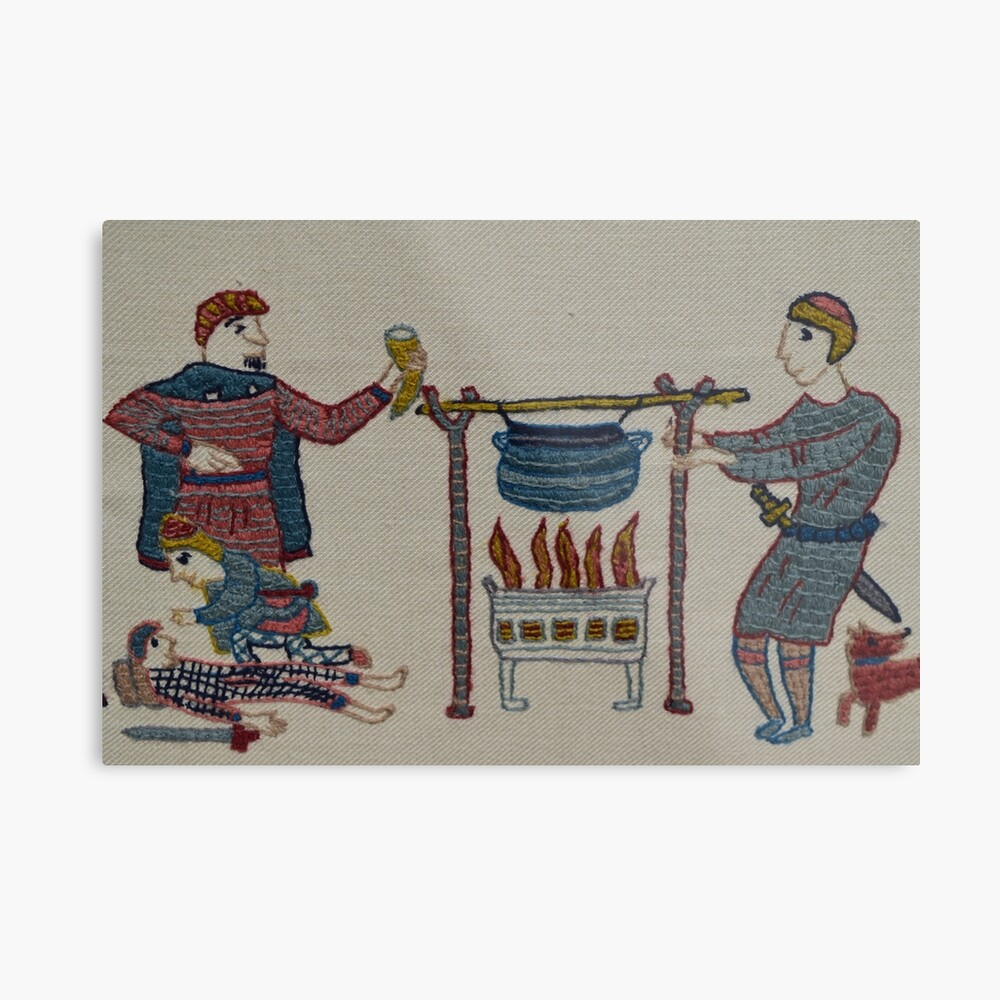 Cooking for the troops Metal Print
