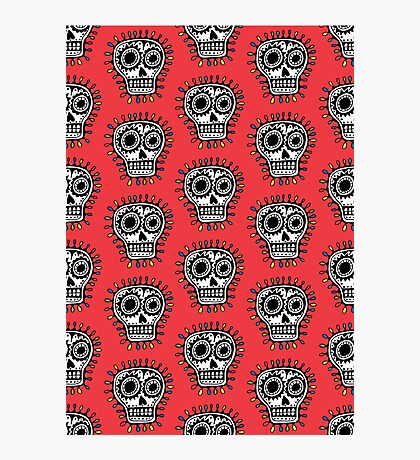 Sugar Skull Fun Photographic Print