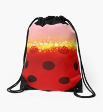 miraculous ladybug designs 2/3 Drawstring Bag
