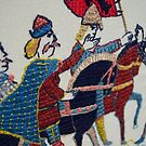 Harald Hardrada makes progress by Stamford Bridge Tapestry Project