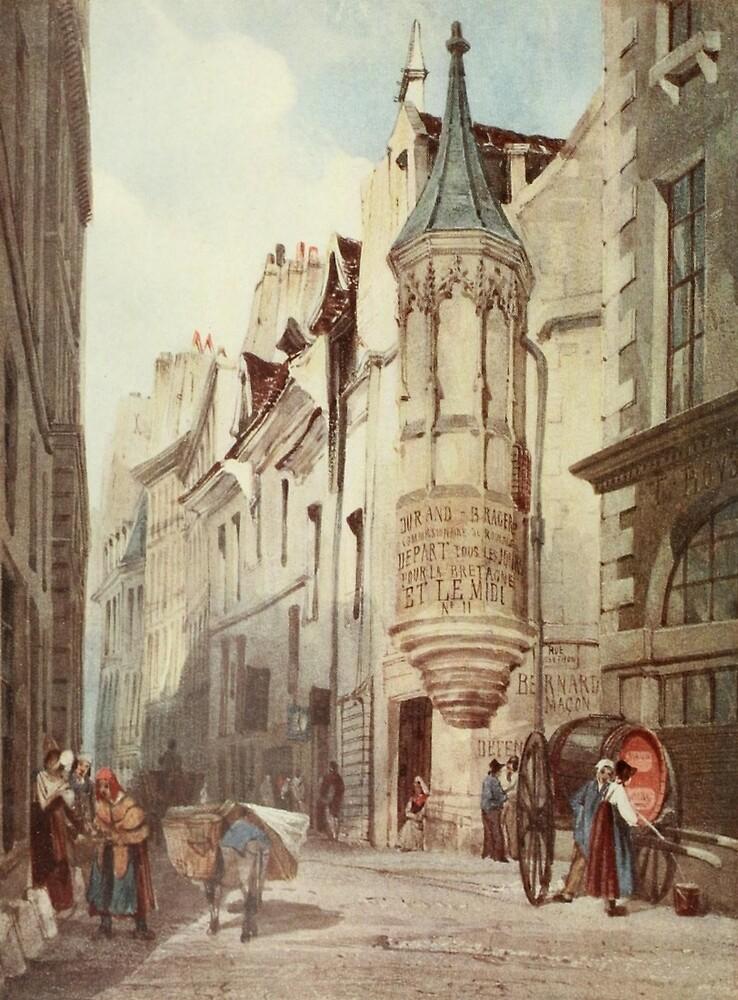 Boys, Thomas Shotter (1803–1874) - The Studio 1922 - Paris Street scene by ARTPICS STORE