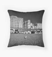 Brighton Promenade Throw Pillow
