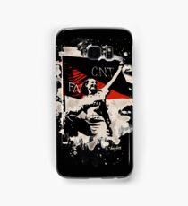 Anarchy Flag Woman - bleached look Samsung Galaxy Case/Skin