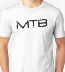 MTB Muddy Mountain Bike Gradient Unisex T-Shirt