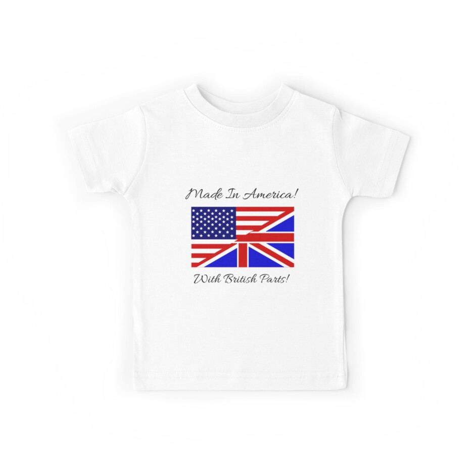 Made in America with British Parts. by RBBeachDesigns