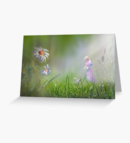 Meadow Float Greeting Card