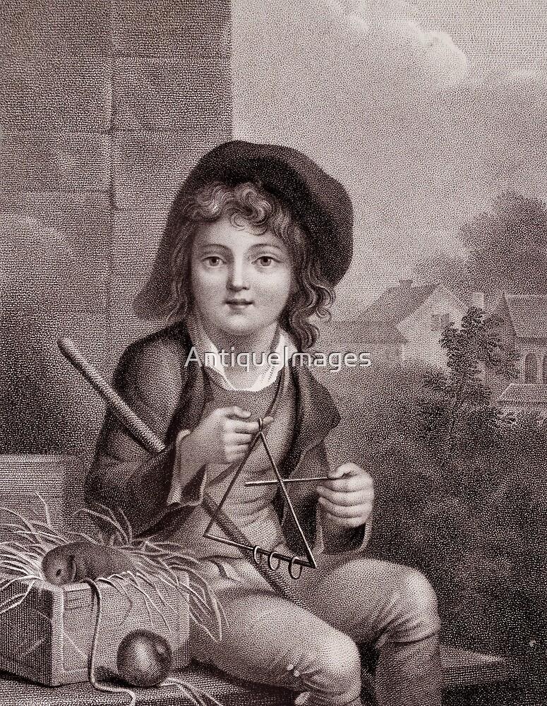 Le Petit Savoyard - Old Print by AntiqueImages