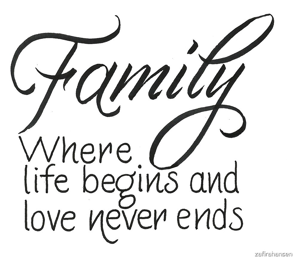 Family quote by zafirahansen