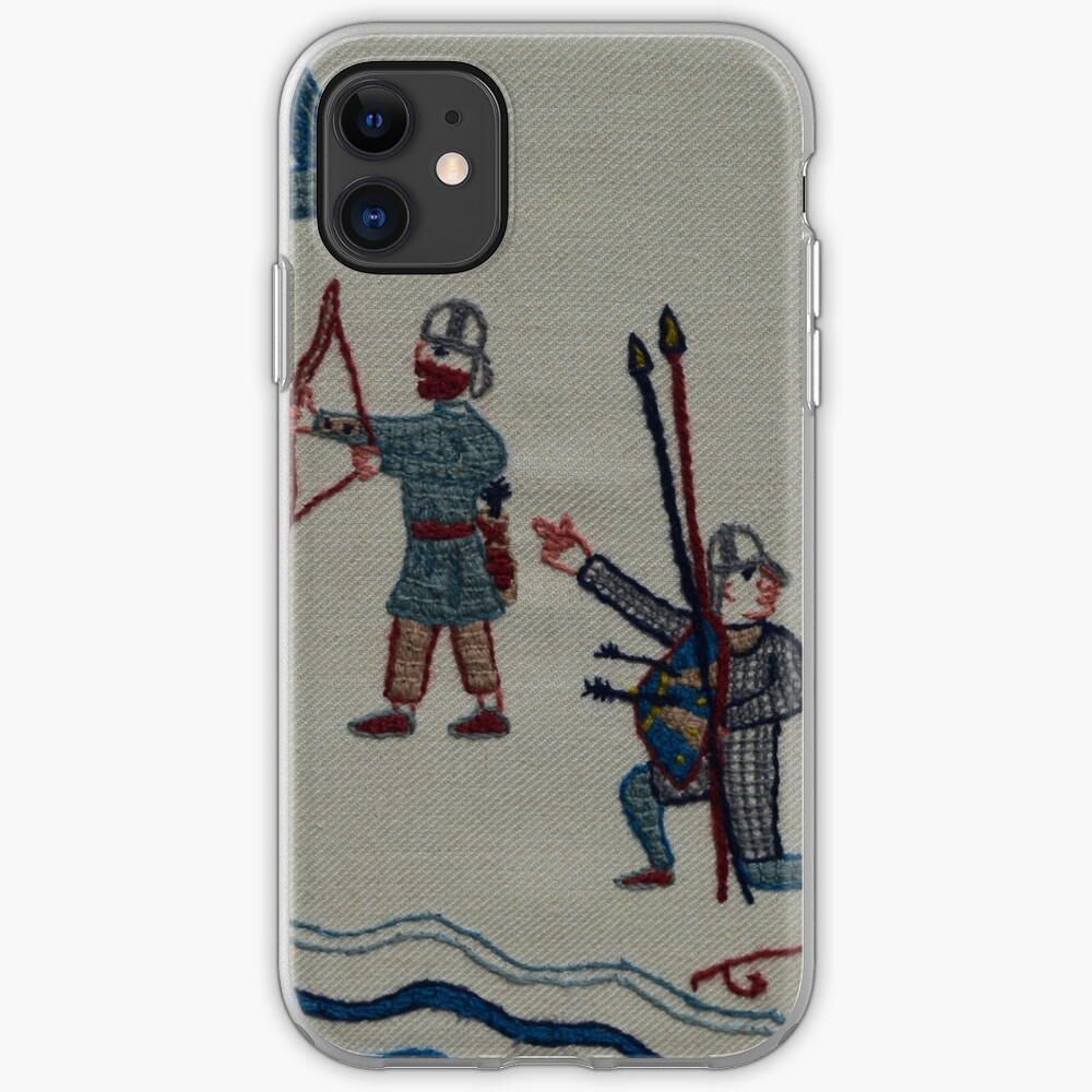 Archers and birds iPhone Case & Cover