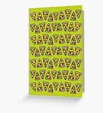 Pop Punk Pizza Grußkarte