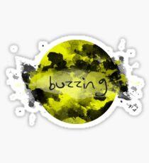 buzzing Sticker