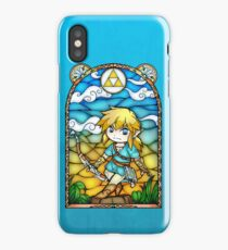 Breath of the Wild Stained Glass iPhone Case