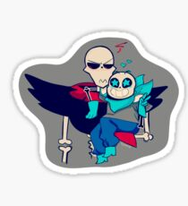 Underfell Papyrus Stickers | Redbubble