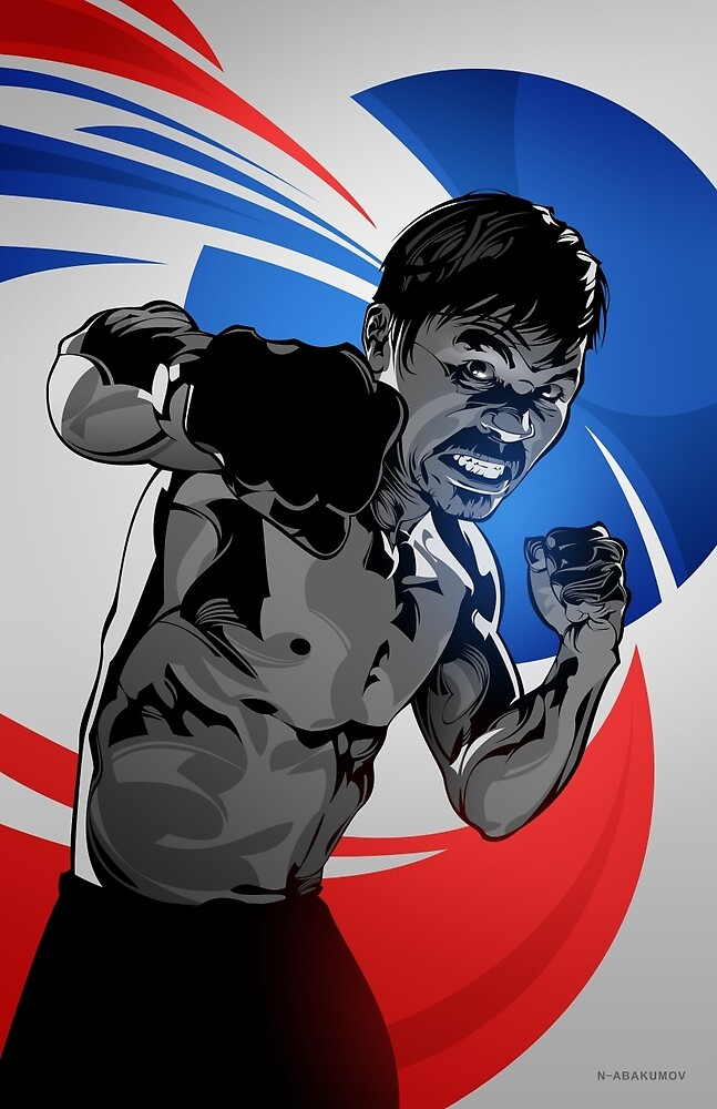 Manny Pacquiao by Nikita Abakumov