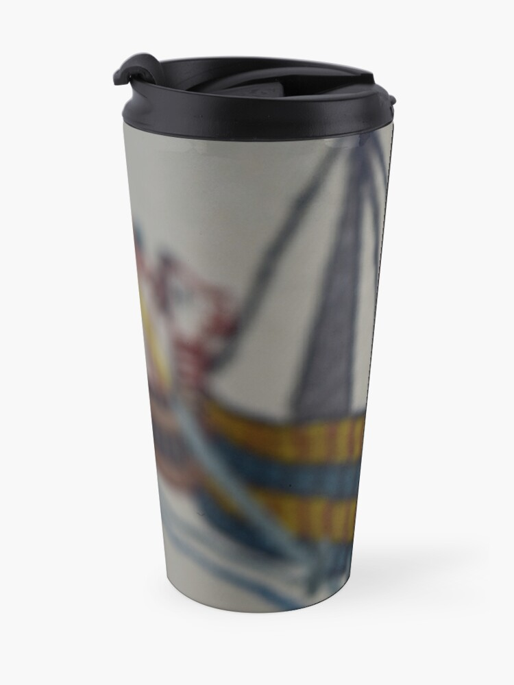 Alternate view of Viking ship Travel Mug