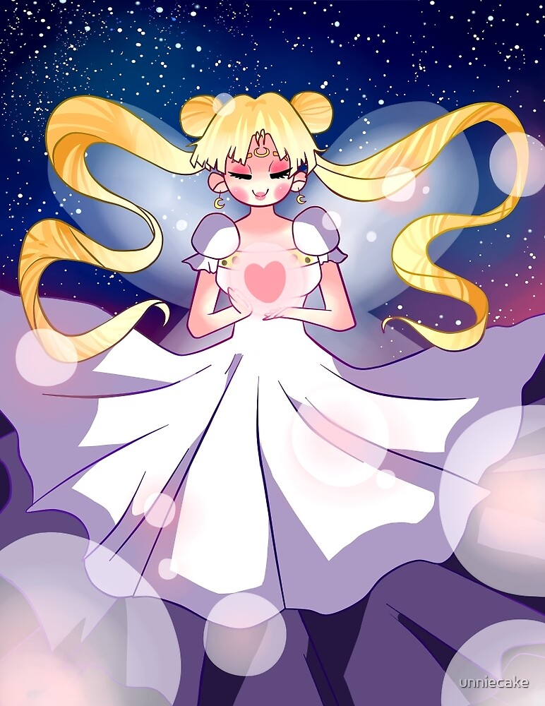 Princess Serenity  by unniecake