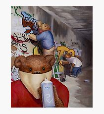 Tagger Teddy Photographic Print