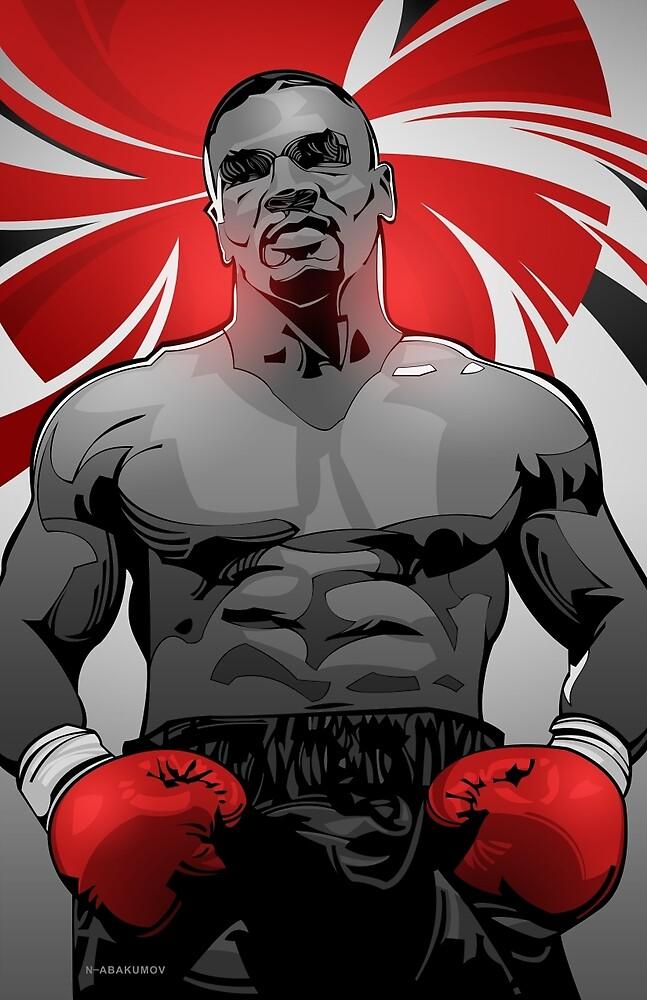 Mike Tyson by Nikita Abakumov